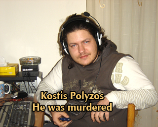 Kostis was murdered