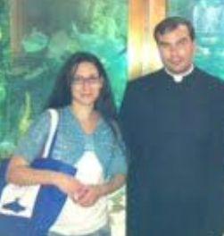 Στη Γερμανία ο Αμερικάνος ιερέας και η Ελληνίδα φίλη του