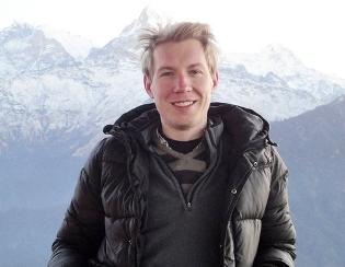 He got lost in Nepal