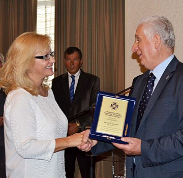 Angeliki was honored